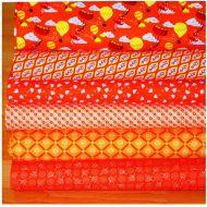 "Набор ткани оранжевый ""Тётушка Эма"""