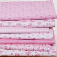 Набор ткани Детский розовый