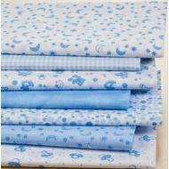 Набор ткани Детский светло-голубой
