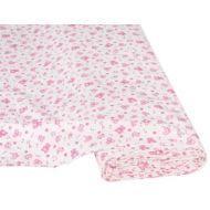 Отрез ткани Детские игрушки белый / розовый