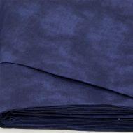 Отрез ткани Муар, темно-синий