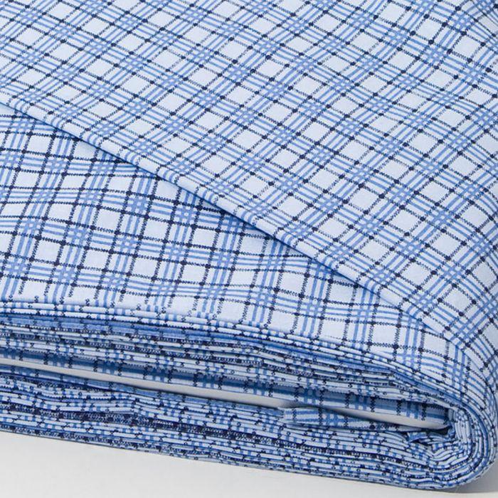 Отрез ткани Ромб, синий для скрапбукинга