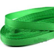 Лента тафтовая зеленая, 6 мм