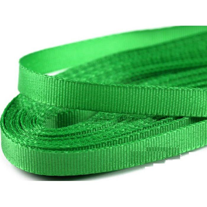 Лента тафтовая зеленая, 6 мм для скрапбукинга