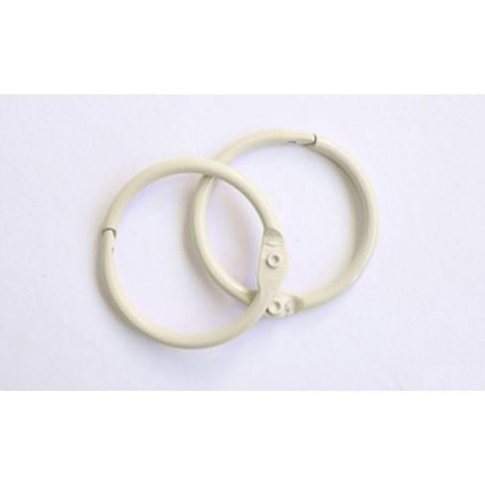 Кольца для альбомов 2 шт слоновая кость 35 мм для скрапбукинга