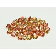 Набор люверсов 4,8 мм золото-медь, 50 шт