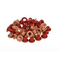 Набор красных люверсов 4,8 мм