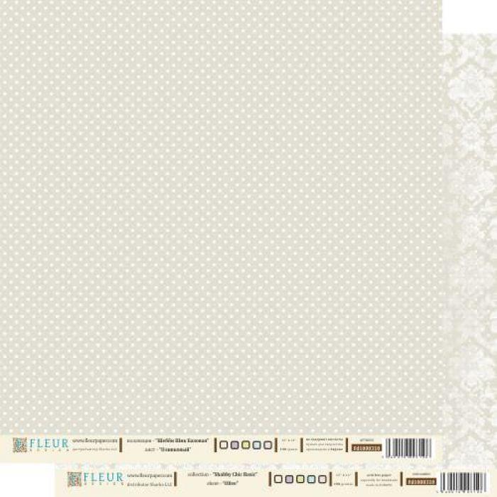 Бумага оливковая из коллекции шебби шик базовая для скрапбукинга