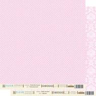 Бумага нежный розовый из коллекции шебби шик базовая