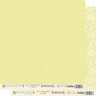 Бумага лимонный, коллекция шебби шик базовая