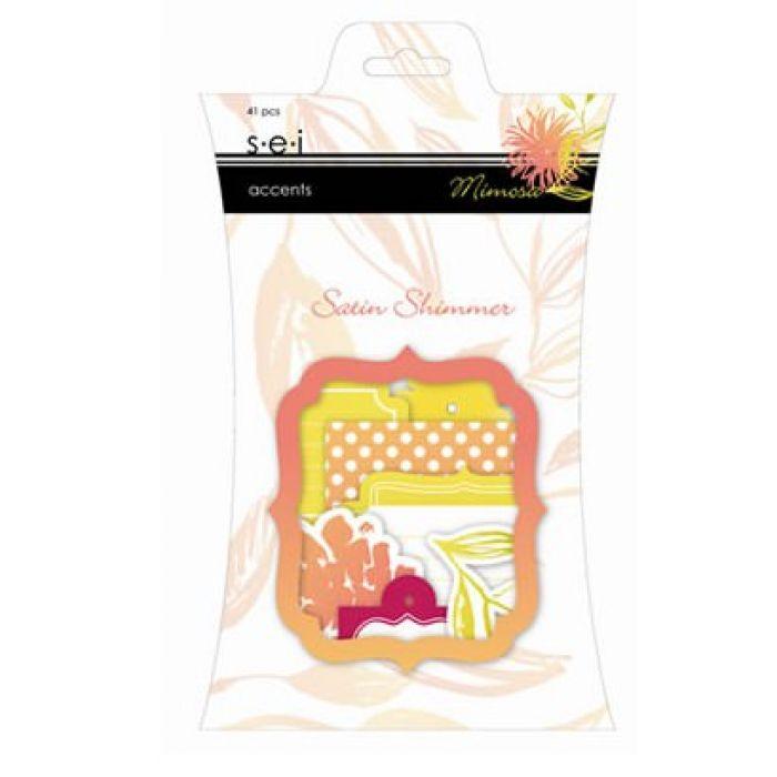 Набор вырубок, коллекция Mimosa для скрапбукинга