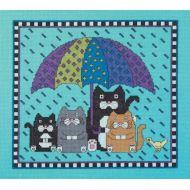 """Набор для вышивания """"Дождь, иди прочь"""""""