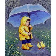 """Набор для вышивания """"Друзья в дождливый день"""""""