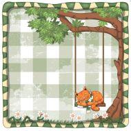 Бумага сладкий сон из коллекции рыжий кот