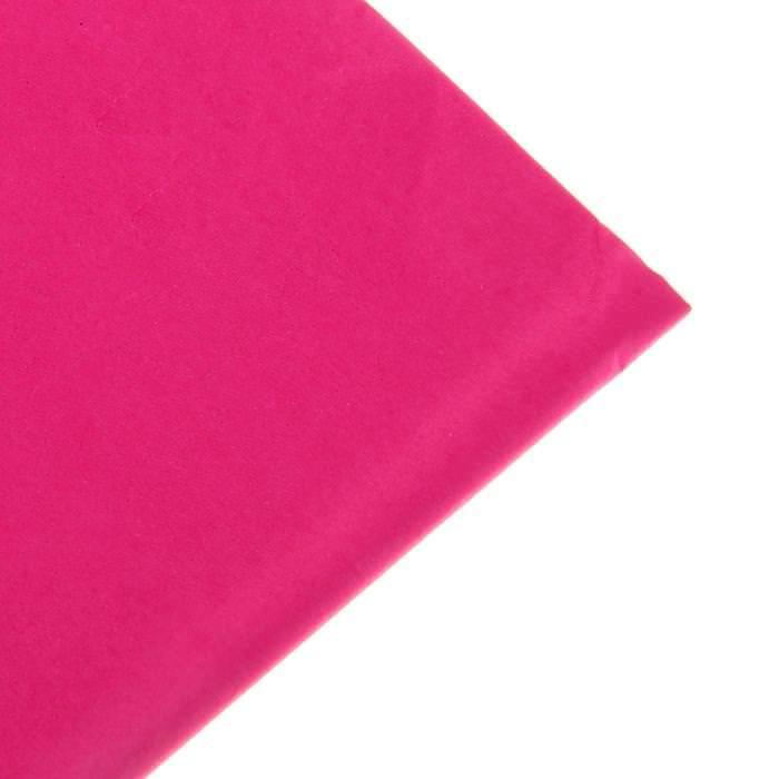 Бумага Тишью, цвет светло-малиновый для скрапбукинга