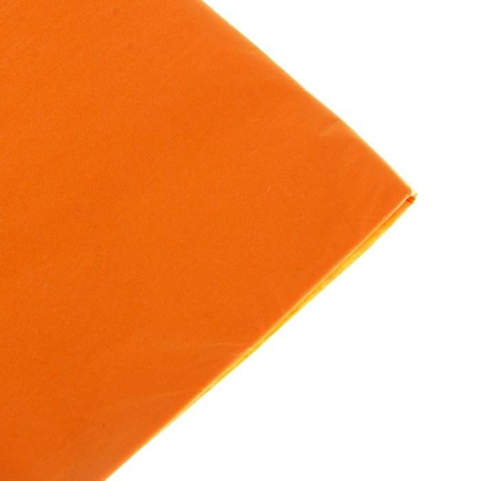 Бумага Тишью, цвет оранжевый для скрапбукинга