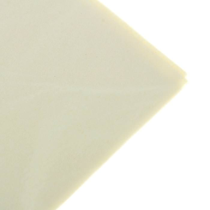 Бумага Тишью, цвет молочный для скрапбукинга