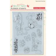Набор штампов Merry Mouse, коллекция Silent Night