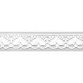 Кружево хлопчатобумажное белое для скрапбукинга