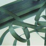 Лента тафтовая темно-зеленая, 9 мм