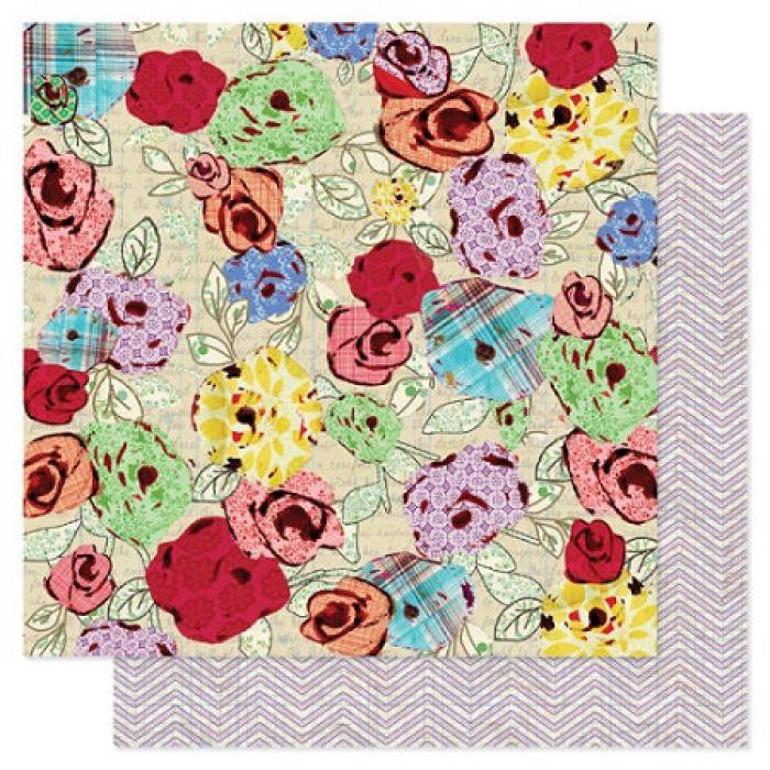Бумага, коллекция  She Art, Inspire для скрапбукинга