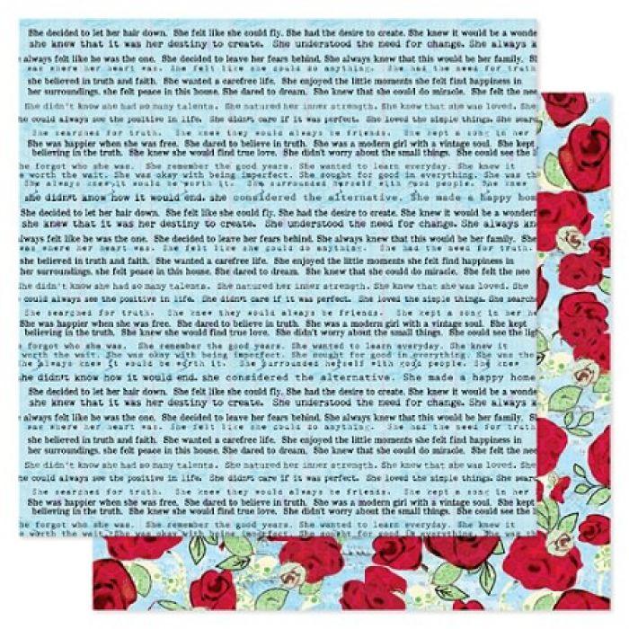 Бумага, коллекция  She Art, Truth для скрапбукинга