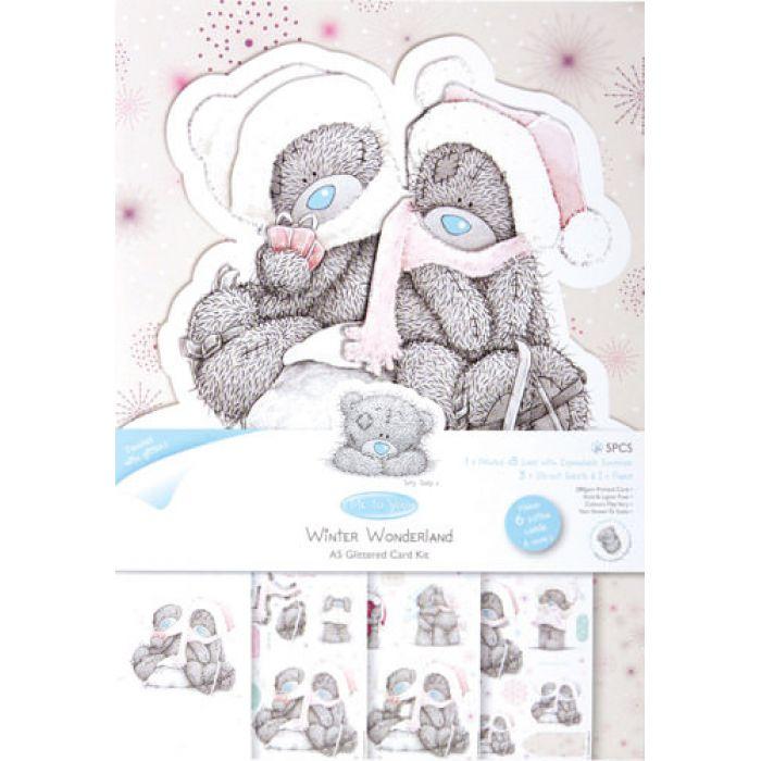 """Набор для создания открытки, коллекция ME TO YOU, """"Для тебя"""" для скрапбукинга"""