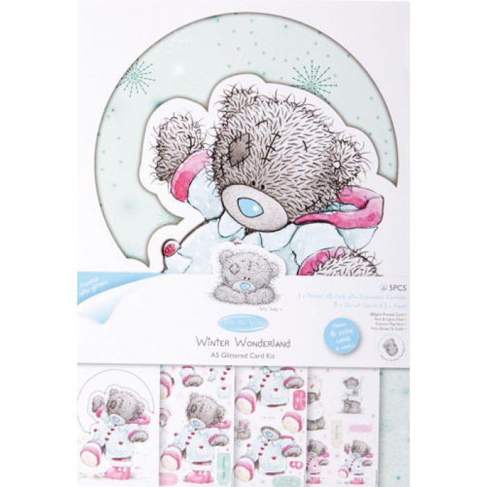 """Набор для создания открытки, коллекция ME TO YOU, """"Зимнее веселье"""" для скрапбукинга"""