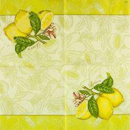"""Салфетка трехслойная """"Лимон"""""""