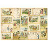 Бумага рисовая Викторианские сказки