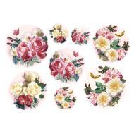 Бумага рисовая Букет роз