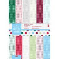 Набор бумаги Spots & Stripes Festive, А4