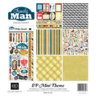 Набор бумаги 30х30 см, коллекция Family Man
