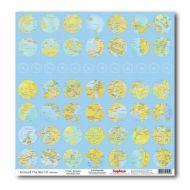 Бумага Часовые Пояса, коллекция Вокруг Света