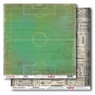 Бумага На футболе, коллекция Районы Кварталы