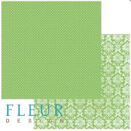Бумага светлая зелень, коллекция шебби шик базовая