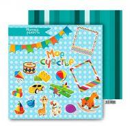 Бумага Игрушки, коллекция Счастливое детство