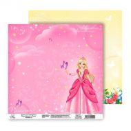 Бумага Принцесса, коллекция Волшебная страна