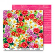 Бумага Цветочный аромат, коллекция Летний сад