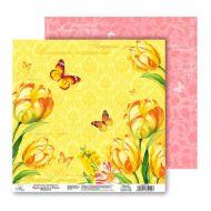 Бумага Солнечное настроение, коллекция Летний сад