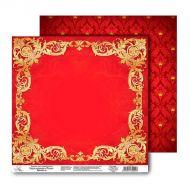 Бумага Золотая рамка, коллекция Королевский шик