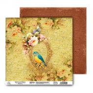 Бумага Птица, коллекция Таинственный сад