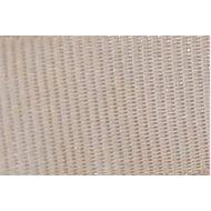 Лента репсовая бежевая, 6 мм