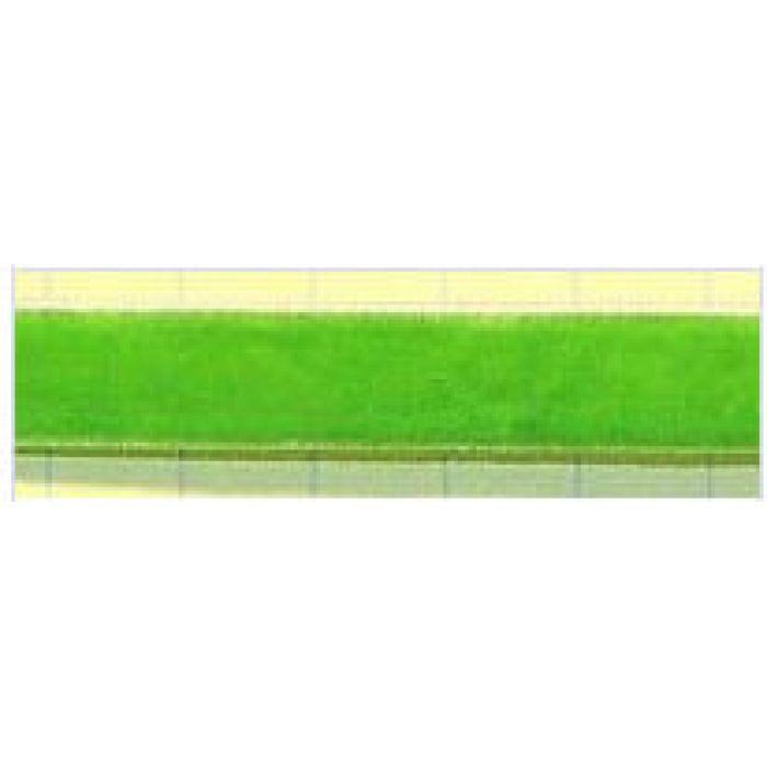 Лента бархатая ярко-зеленая, 10 мм для скрапбукинга