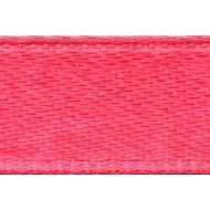 Лента атласная розовая, 6 мм