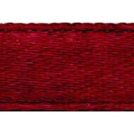 Лента атласная бордовая, 6 мм