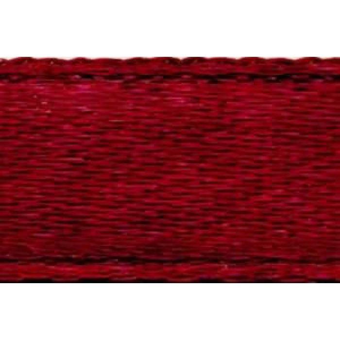 Лента атласная бордовая, 6 мм для скрапбукинга