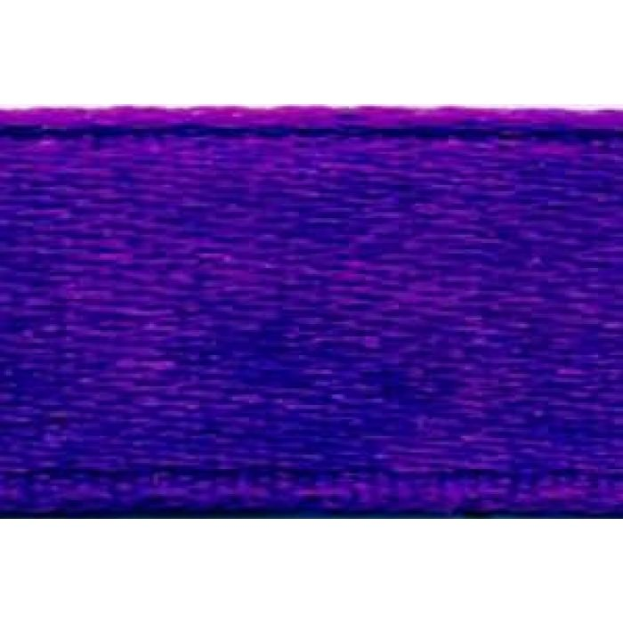 Лента атласная фиолетовая, 6 мм для скрапбукинга