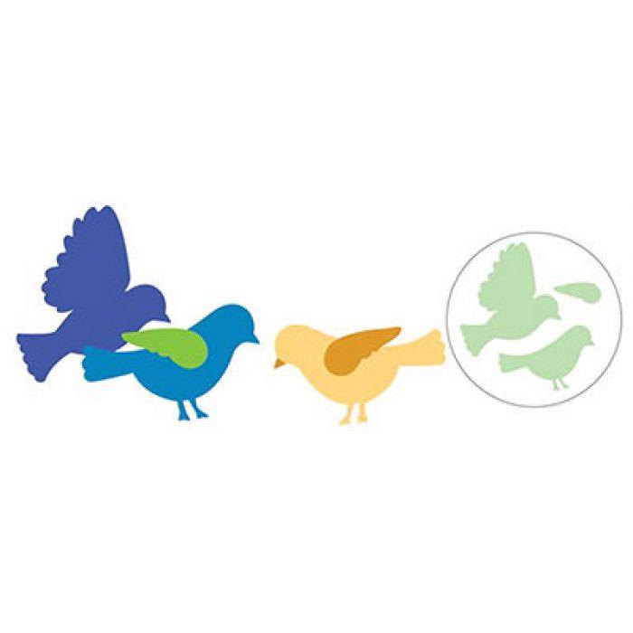 Фигурный дырокол Птица для скрапбукинга