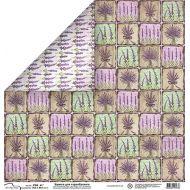 Бумага 448, коллекция Лаванда